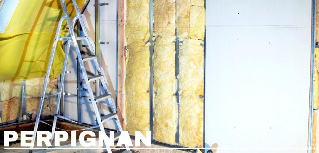 isolation combles et mur avec laine de verre Occitanie