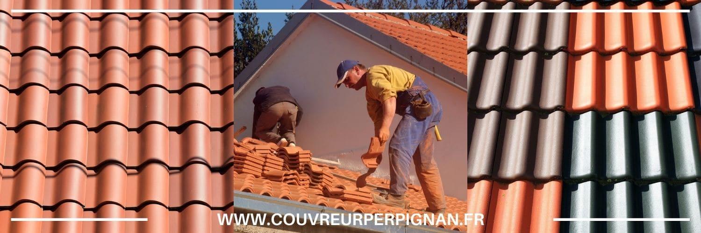 réparation de tuiles sur toit et pose à Toulouges
