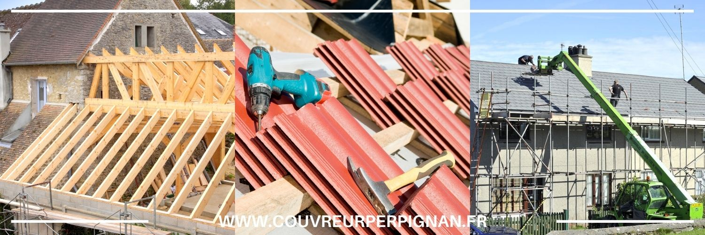dépannage et réparation de toiture à Cabestany 66330